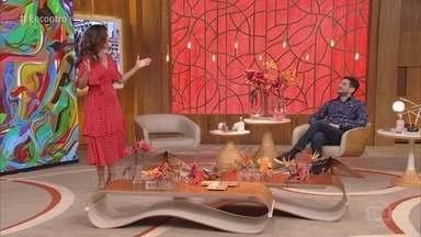 Programa de 03/07/2020 - Fátima Bernardes conversa com Roberta Miranda e Fernanda Torres sobre a quarentena. Ana Maria Braga mostra exemplo superação durante a pandemia e relembra deliciosa receita de empadinha caprese