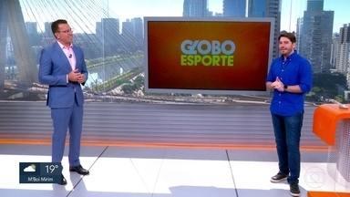 Veja o bloco do Globo Esporte no SP1 deste sábado, 04/07/2020 - Veja o bloco do Globo Esporte no SP1 deste sábado, 04/07/2020