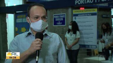 Rodoviária de Maceió põe em prática o protocolo sanitário para o retorno das atividades - Abdias Martins tem mais detalhes.