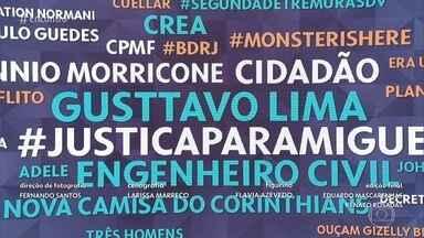 Gusttavo Lima promete custear tratamento para ciclista que atropelou em Goiás - Patrícia Poeta comenta os assuntos que estão em destaque nas redes sociais na manhã desta segunda-feira
