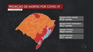 Eduardo leite faz alerta sobre Região metropolitana de Porto Alegre - Governador do RS demonstrou preocupação com o crescimento da taxa de ocupação de UTIs.