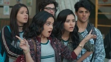 K2 e K1 incitam os alunos a falarem mal de Keyla - Ellen vai atrás de Keyla na creche de Tonico e avisa sobre as fofocas na escola