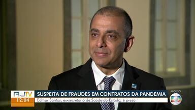 Edmar Santos, ex-secretário de Saúde, é preso no Rio de Janeiro - Ele é investigado por suspeitas de irregularidades nos contratos assinados durante a pandemia de Covid no estado. Às 10h50, Santos deixou o prédio onde reside em Botafogo em um carro preto em direção à Cidade da Polícia.