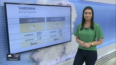 Confira a previsão do tempo para o final de semana no Sul de Minas - Confira a previsão do tempo para o final de semana no Sul de Minas