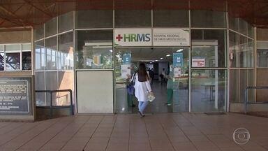 Hospitais da Região Metropolitana de Campo Grande têm quase 90% das vagas de UTIs ocupadas - Os hospitais da Região Metropolitana de Campo Grande chegaram a quase 90% das vagas de UTI ocupadas. Um problema que se torna ainda mais grave, porque Mato Grosso do Sul tem recebido pacientes de outros estados.