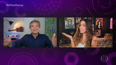 Programa de 11/07/2020 - Em programa inédito, Serginho Groisman entrevista Anitta, Renata Vasconcellos e Fábio Assunção
