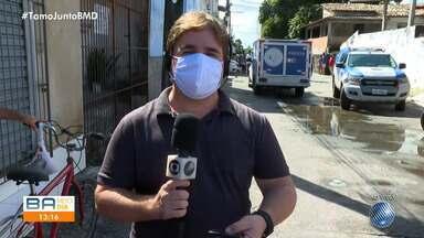 Agente de zoonose é assassinado na manhã desta segunda, em Cajazeiras - O homem morreu após ser baleado na Quadra 5, no bairro de Cajazeiras V, em Salvador