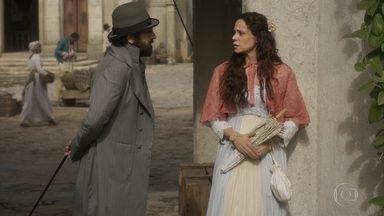 Amália conta o que lembrou de Dom João para Peter - Leopoldina visita Anna no convento