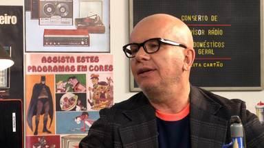Marcelo Tas - O apresentador Marcelo Tas fala sobre calvície, comenta sua carreira na televisão e relembra o dia que encontrou Raul Seixas – seu maior ídolo – no supermercado.