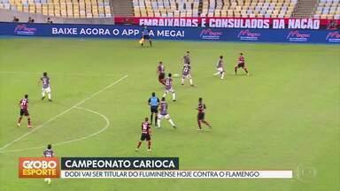 GE no DF1: Flamengo e Fluminense decidem Campeonato Carioca - Esporte também destaca saída de Yony González do Corinthians, possível saída de Dudu do Palmeiras, calendário da Copa do Mundo de 2022 e UFC.