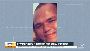 Acontece em São Luís audiência de PM suspeito de matar ex-companheira - Veja mais informações com o repórter Adaílton Borba.