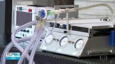 Incor vai usar ventiladores pulmonares desenvolvidos pela USP - USP espera produzir 10 ventiladores por dia.