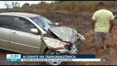 Acidente entre dois carros na rod. Transamazônica deixa uma pessoa morta e duas feridas - Vítima foi fundadora do primeiro sindicato da agricultura familiar no Pará.