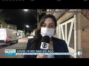 Ipatinga ultrapassa 4 mil casos de Covid-19 nesta quarta-feira (15) - Município ainda confirmou mais mortes.