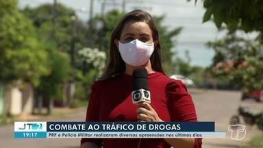 PRF e Polícia Militar realizaram diversas apreensões nos últimos dias em Santarém - Órgãos de segurança têm atuado em combate ao tráfico de drogas.