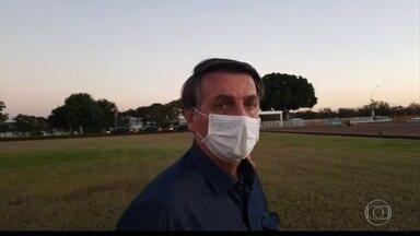 Bolsonaro informa em rede social que novo exame para a covid deu resultado positivo - Bolsonaro foi diagnosticado no último dia 7 com o novo coronavírus.