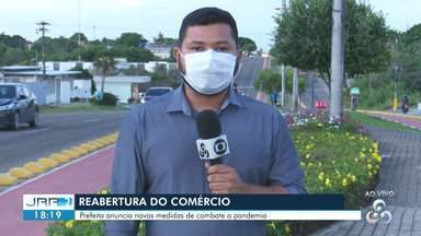 Prefeitura anuncia multa de R$ 50 para quem deixar de usar máscara em Boa Vista - Prefeita anuncia novas medidas de combate a pandemia.