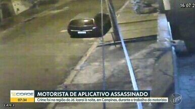 Motorista de aplicativo morre após ser baleado no Jardim Icaraí, em Campinas - Crime ocorreu na noite desta quinta-feira (16). Segundo a polícia, o motorista, de 37 anos, foi assaltado por dois homens e baleado. Nenhum suspeito foi preso.
