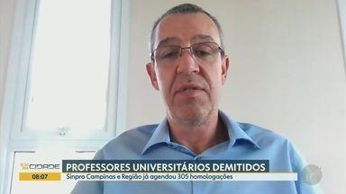 Covid-19: número de demissões de professores aumenta em meio a pandemia - Segundo o Sindicato de Professores da região de Campinas (SP), já foram agendadas cerca de 305 homologações de professores universitários.