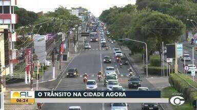 Confira como está o transito em Maceió - Ragi Torres tem os detalhes.