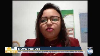 Secretária de educação pede continuidade do Fundeb - Secretária de educação pede continuidade do Fundeb