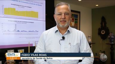 Vitória da Conquista e Jequié em alerta devido ocupação dos leitos de UTI de quase 100% - Nesta sexta-feira (17), o secretário estadual de saúde, Fábio Vilas Boas, anunciou abertura de 10 novas vagas.