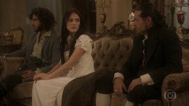 Anna garante que encontrará provas contra os crimes de Thomas - Joaquim e Anna agradecem a proteção dos monarcas