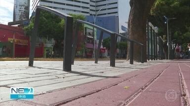 Reforma da Avenida Conde da Boa Vista fica pronta, no Centro do Recife - Serviços foram finalizados quatro meses antes do previsto.