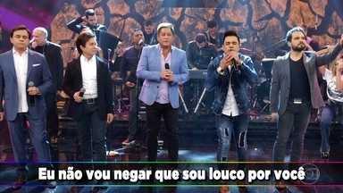 Amigos cantam músicas de sucesso - Confira 'Sinônimo', 'Pensa em Mim', 'É o Amor',