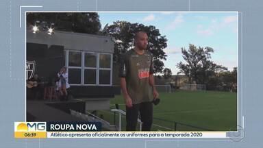 Galo apresenta oficialmente os uniformes para a temporada 2020 - Apresentação foi feita na Cidade do Galo, em Vespasiano