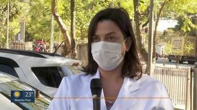 Número de mortes por covid no Hospital de Heliópolis é alto - A unidade de campanha é a únicacom UTI.