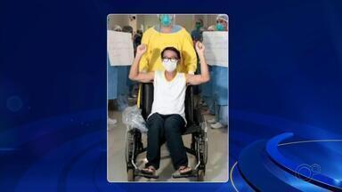 Pacientes que tiveram Covid-19 relatam a recuperação após ter a doença - Pacientes de Rio Preto (SP) que tiveram Covid-19 relatam a recuperação após ter a doença.