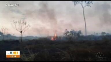 Altamira registra incêndios florestais durante verão amazônico - Altamira registra incêndios florestais durante verão amazônico