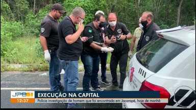 Corpo sem identificação é encontrado em João Pessoa - Corpo de homem foi encontrado em Jacarapé.