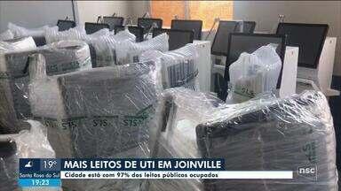 Joinville anuncia novos leitos de UTI para a cidade - Joinville anuncia novos leitos de UTI para a cidade