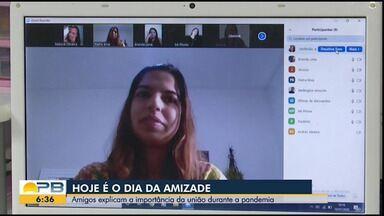 Grupo de amigos da Paraíba explica a importância da amizade durante a pandemia - 20 de julho é o Dia do Amigo.