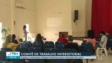 Diretrizes para o retorno das atividades escolares são discutidas por Comitê de Educação - Ainda não há previsão para o retorno das aulas presenciais em Santarém.