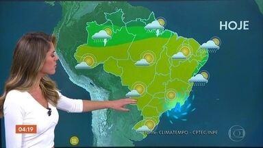 Previsão é de tempo seco em SP e MG nesta quarta-feira - Calor predomina em boa parte do país.