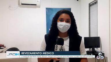 Grupo de médicos deve chegar em Cacoal para ajudar nos atendimentos no Heuro - Sete médicos devem passar 15 dias na cidade para ajudar a minimizar os danos das baixas causadas pela Covid-19 entre profissionais da saúde