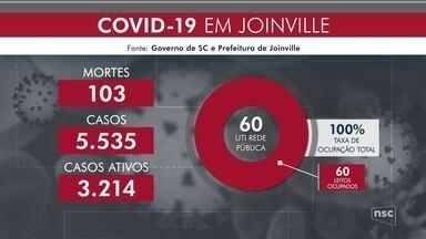 Joinville chega a 103 mortes por coronavírus - Joinville chega a 103 mortes por coronavírus
