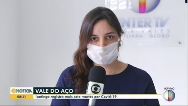 Ipatinga registra recorde de mortes diárias por Covid-19; foram sete - No total, cidade tem 86 óbitos provocados pelo coronavírus.