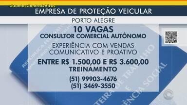 Empresa de proteção veicular tem 10 vagas para consultor autônomo em Porto Alegre e região - Acesse o g1.com.br/rs e veja os detalhes.