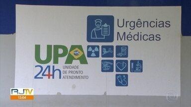 Secretaria Estadual de Saúde recontrata O.S. que teve dirigentes presos há menos de 1 mês - A organização social Lagos Rio vai continuar gerenciando a UPA de Nova Iguaçu por mais um ano, ou até que uma nova licitação possa ser feita.
