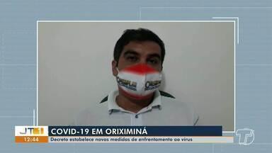 Decreto de Oriximiná estabelece novas medidas de enfrentamento ao coronavírus - No município já tem mais de 2.900 mil casos da doença.