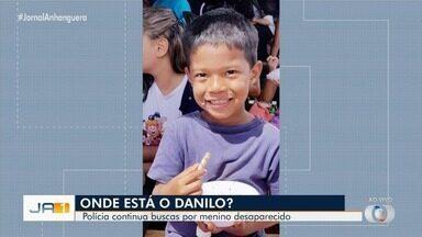 Buscas pelo menino Danilo continuam neste sábado (25), em Goiânia - Criança está desaparecida há três dias depois de sair para ir à casa da avó.