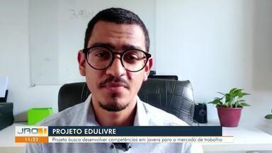Projeto Edulivre - Projeto busca desenvolver competências em jovens para o mercado de trabalho.