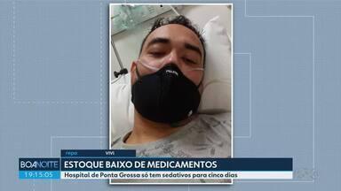 Governo do Paraná suspende cirurgias eletivas - Objetivo é reduzir consumo de medicamentos usados em UTIs.