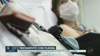Hemocentro amplia estudo sobre uso de plasma no tratamento da Covid-19 em Ribeirão Preto - Cerca de 40 pacientes em estado grave participaram do estudo clínico e, até outubro, mais 120 devem receber o material.