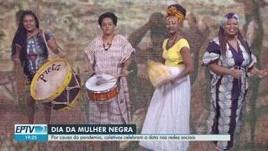Coletivos celebram Dia da Mulher Negra à distância em Ribeirão Preto - Comemorações precisaram ser adaptadas em razão da pandemia de Covid-19.