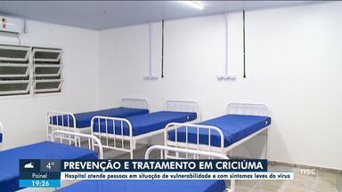 Hospital em Criciúma atende pessoas em situação de vulnerabilidade - Hospital em Criciúma atende pessoas em situação de vulnerabilidade